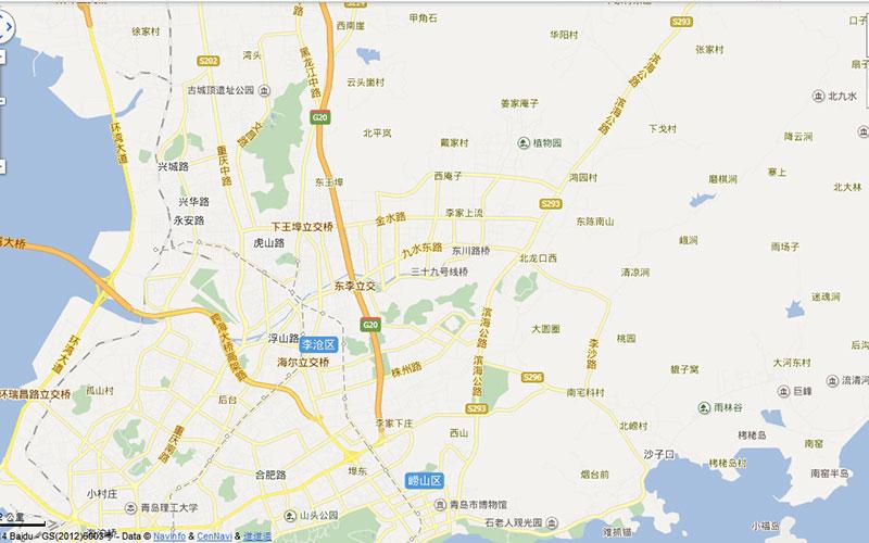 看房车线路地图