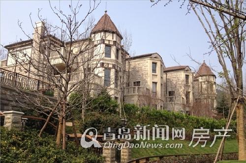 香山美墅别墅实景图