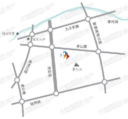 鲁信南海花园,地铁2号线,世园会,东李片区,青岛新闻网房产