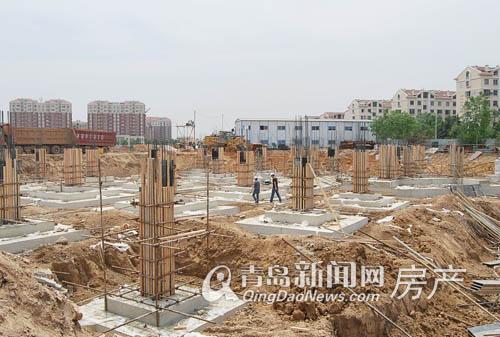 城阳 城市综合体 城中城 工程进展