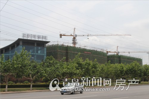 宝佳中央湖岸2012.6.3工程进展实拍