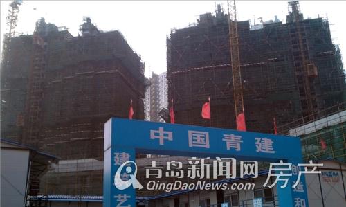 晓港名城二期开盘时间未定 最新工程进展实拍