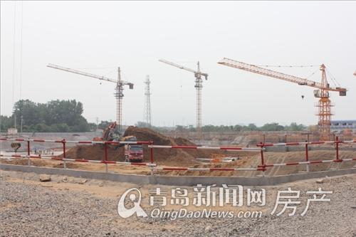 城阳臻园工程进展