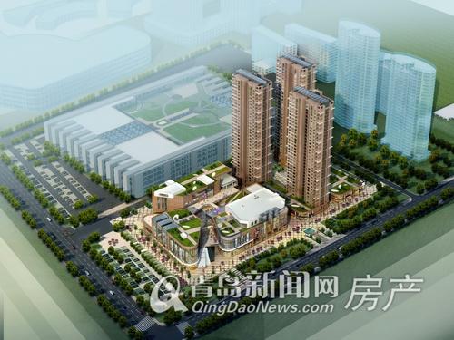 宏程广场,胶南城市综合体,西海岸经济新区,青岛新闻网
