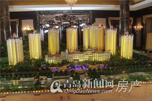 北中国第一豪宅-青岛紫檀山售楼处沙盘