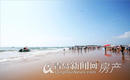 亚洲第一滩金沙滩美景