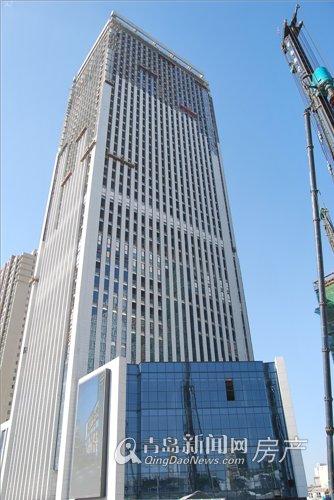 青岛欧亚中心最新工程进展(2012.11.13)