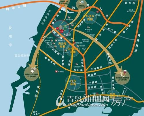 颐和广场区位图