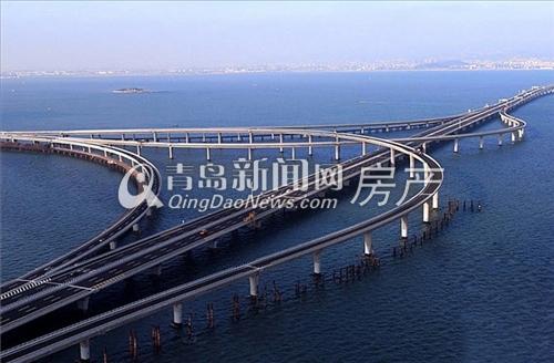 跨海大桥,景尚名都交通,青岛新闻网房产