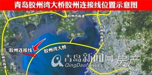 胶州湾大桥胶州下桥口,青岛新闻网房产