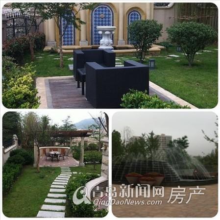 玫瑰庭院与万科生态城的优雅环境 青岛新闻网
