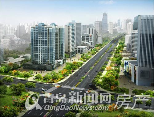 九水东路拓宽改造工程即将通车
