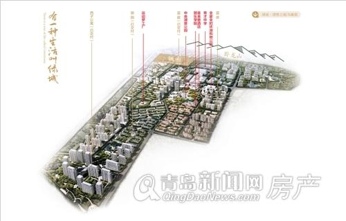 绿城理想之城规划图