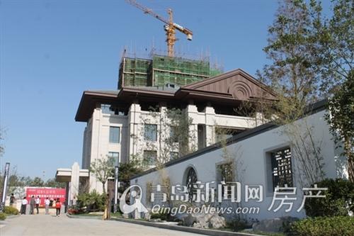 科达天意华苑,中式风格售楼处,景观示范区,青岛新闻网房产