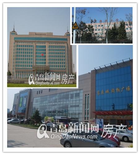 胶南市政府,胶南利群,胶南海滨小学,五月蓝岸