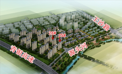 鑫江水青花园鸟瞰图,青岛新闻网