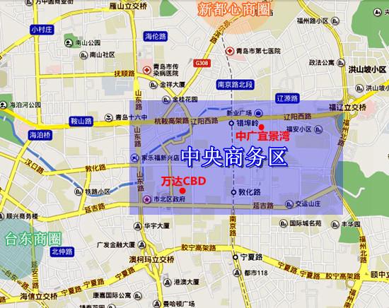 中央商务区,中广宜景湾,市北,青岛新闻网