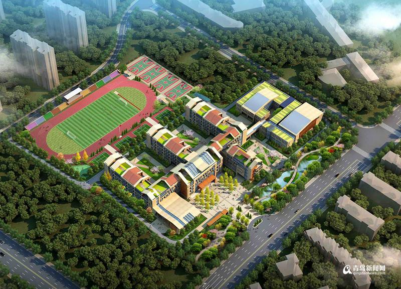 合肥路规模明年占地v规模小学48个班启用65亩泰达红桥区天津小学图片