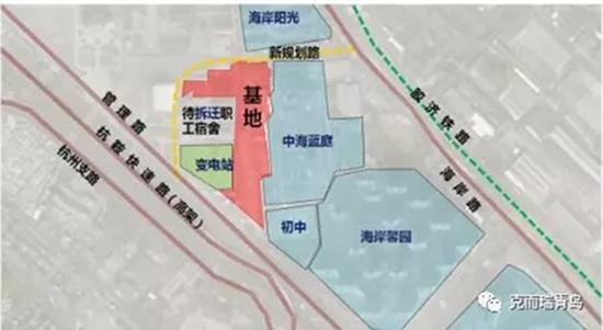 葡京开户网站市北海岸道36号13万方商住地延期出让 11月26日开