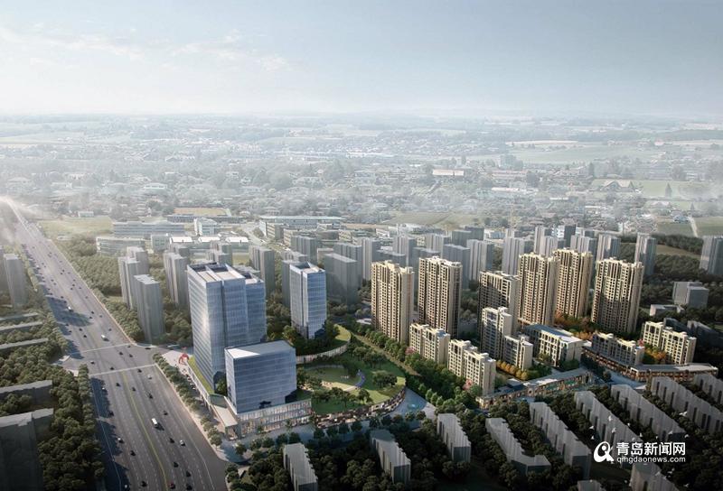 浮山新区这里未来可期 住宅商业公园交通全都有