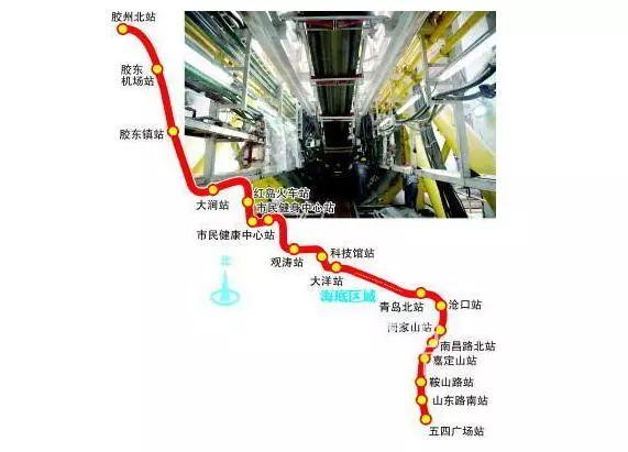网络赚钱方法:通车时间确定!青岛地铁8号线最新进展来了!还