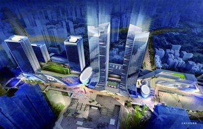 集约紧凑、功能复合 交通枢纽上盖综合体成为大城市空间重塑的选择 - 青岛新闻网