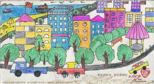 产杯 胶南市中小学生书画大赛完美谢幕