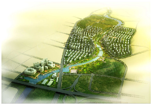 山河城·海洋公园9大景观打造听海社区