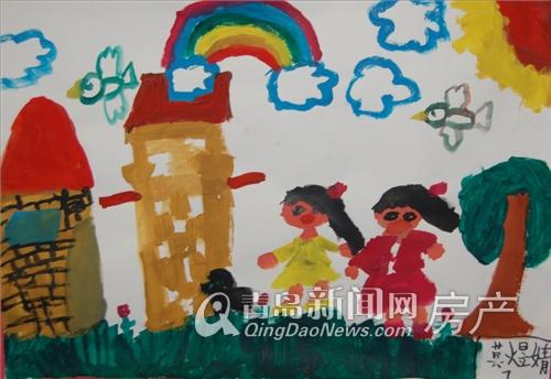 描绘美好生活 绿城 理想之城少儿绘画大赛举行