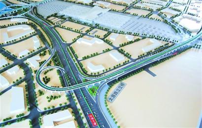 太原路立交桥成功爆破 原址新建一座双向六车道两层互通式立交桥