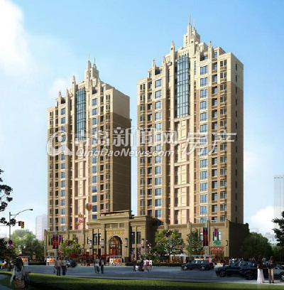 建筑总面积22430平米,由2栋17层高层和3栋电梯洋房