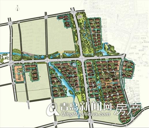 变更后规划图(点击查看大图)-首发 城建湾头村改造新规划出台 旧村