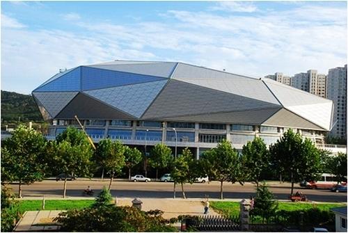 青岛市体育中心体育馆