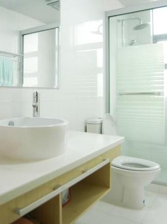 让小卫生间宽敞起来 3种面积卫浴间装修高清图片