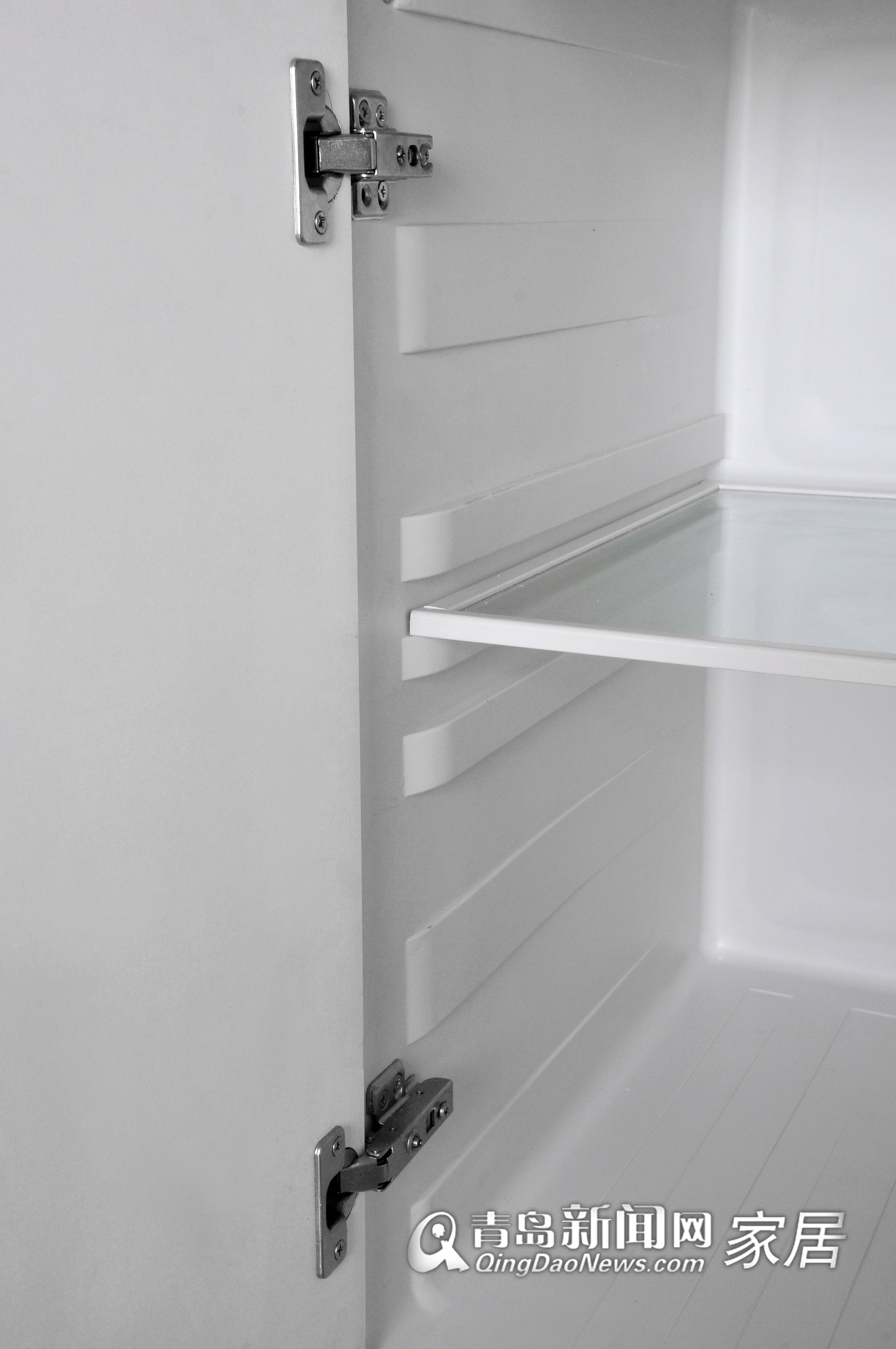 内胆橱柜柜体采用圆滑弧形边角设计