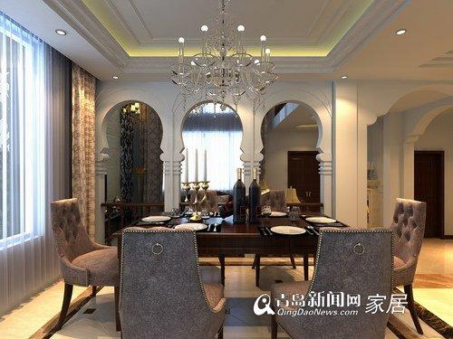 东方家园装饰欧式风格别墅-青岛新闻网房产