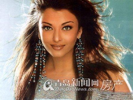印度第一美女的风情香居 青岛新闻网房产