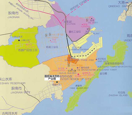 开发区地图-青岛新闻网房产