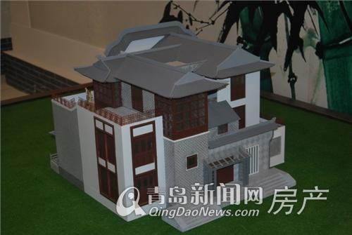 长水山庄别墅模型实拍