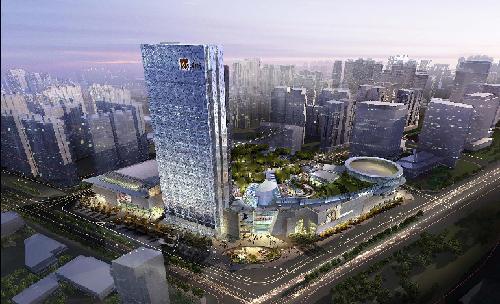 探商业建筑文曲星凯里森 金牌设计团队筑青岛华润中心图片