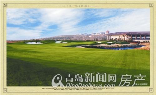 金山高尔夫球场效果图-丁字湾媒体行体验高尔夫 蓝海香湾11月开盘起