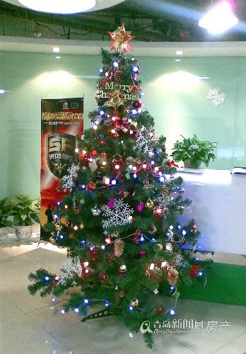 其实不然,在欧美国度,大部分家庭的圣诞树都是主人手工制造完成的.
