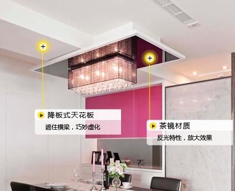 小户小厅吊顶设计详解(图)