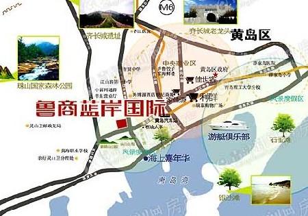 鲁商凤凰城地图