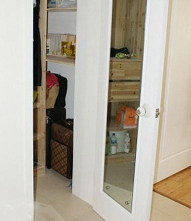 收纳盒镜子的组装步骤图片
