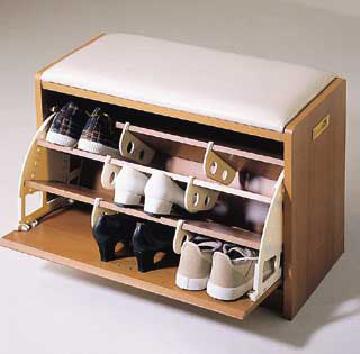 木质组装鞋柜步骤图