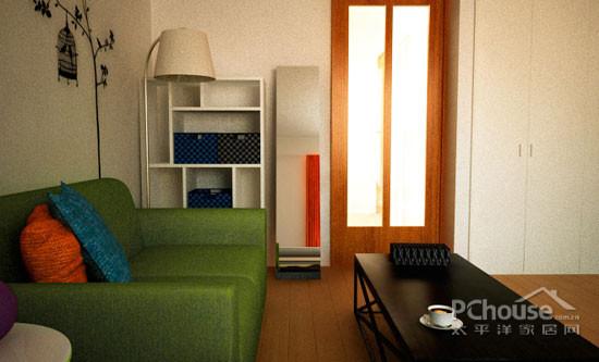 小户型设计,单身公寓设计,青岛装修,收纳设计
