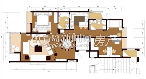 东方家园设计师王林设计作品——平面图
