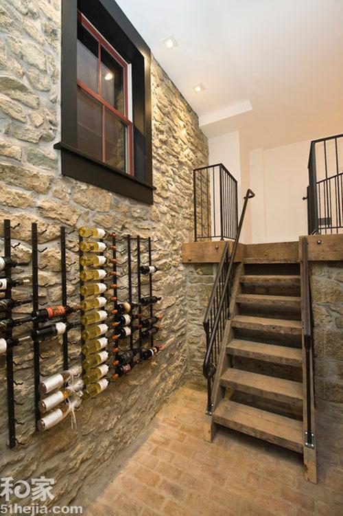 红酒收纳,酒柜设计,青岛装修,美酒收藏