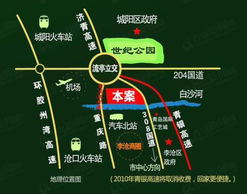 青岛森林野生动物园地图